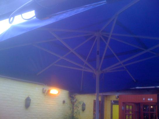 Custom made awnings and tents